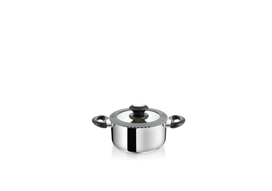 12140dfa60319 Riad s unikátnou pokrievkou SmartCOVER s pružným okrajom na odkladanie  naberačiek, penovačiek, lyžíc a variech počas varenia a ľahké na cedenie.
